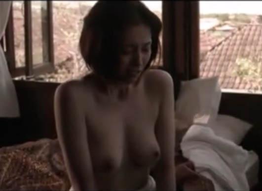 【三津谷葉子】映画「欲動」より巨乳丸出しで騎乗位から座位に変わり最後は正常位でフィニシュするSEXシーン