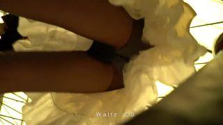 【パンチラ盗撮】コスプレ会場で目を付けた可愛い子のスカートの中を隠し撮り!