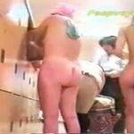 【女湯盗撮】とあるスーパー銭湯の光景、デカ尻の女性が多いですw