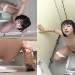 【放尿盗撮】和式の公衆トイレでの娘達の放尿絶頂シーンまとめ!オナニーもありますw