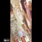 【パンチラ盗撮】イケてるアパレル店員さんに服の相談してるふりで逆さ撮り!